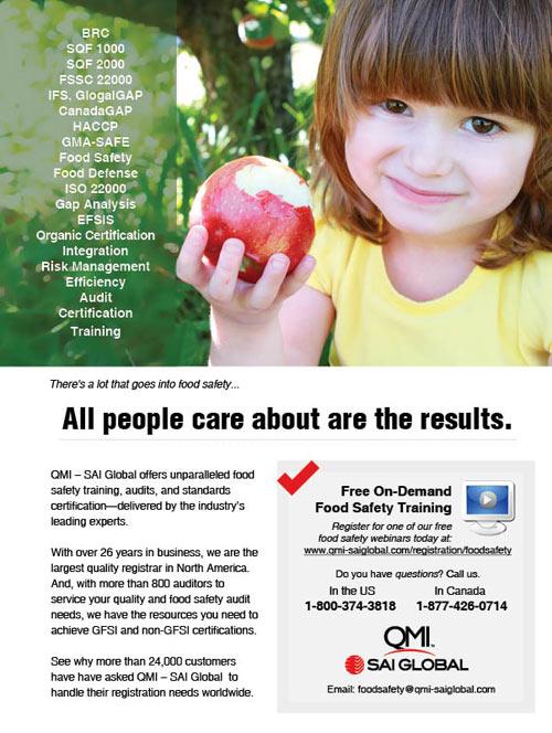 GFSI Ad Ogilvy Magazine Ad